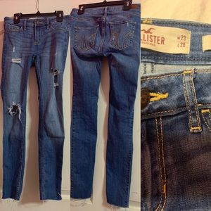 Hollister women's 00s (short) super skinny jeans